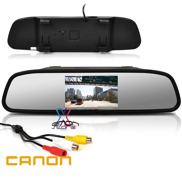 """آینه مانیتور دار """" ۴٫۳ canon با دوربین"""
