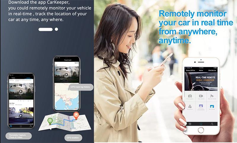 کارکرد سیستم کارکیپر برای ردیابی و دریافت اعلان های خودرو