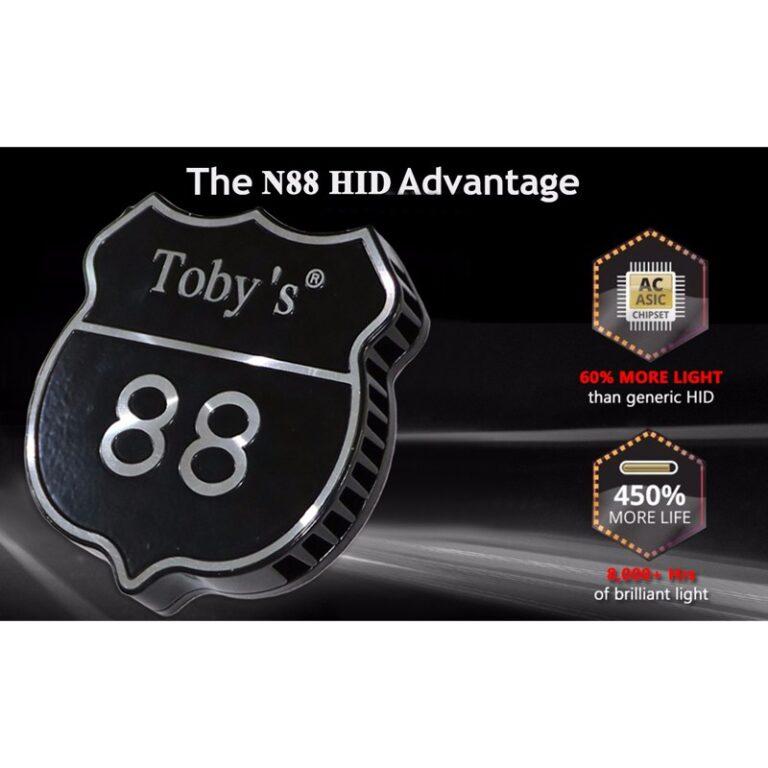 زنون 100 وات توبی مدل N88 کنباسدار